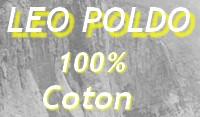 boxer homme en coton - 100% coton marque leo poldo